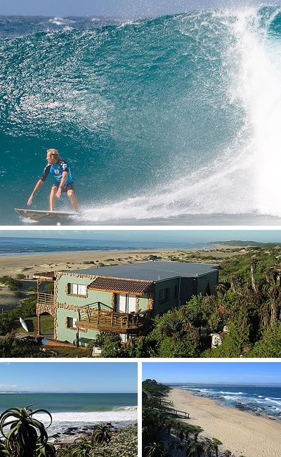 Surfer's paradise - Jeffreys Bay, affectionately known as JBay, Eastern Cape - South Africa