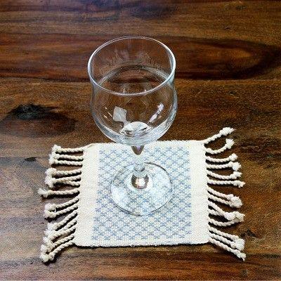 Wayil SJCOM Denim Glassunderlag | Eksklusive Klær, Smykker, Vesker og Interiør Design
