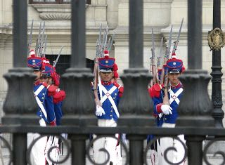Changing of the Guard - Lima - Peru