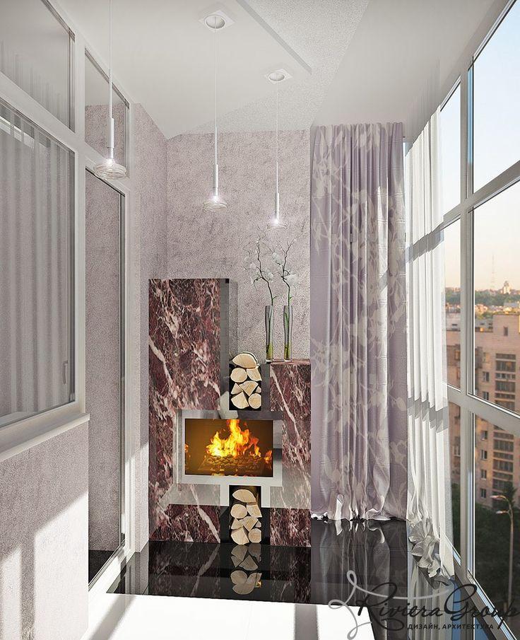 «Неоновый всплеск» - дизайн квартиры в стиле конструктивизм