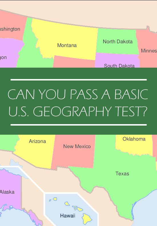 Can You Pass a Basic U.S. Geography Test?