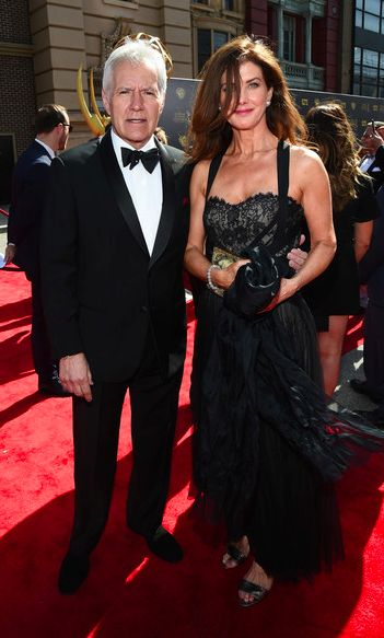 Alex and Jean Currivan Trebek at #Daytime Emmy Awards 2015