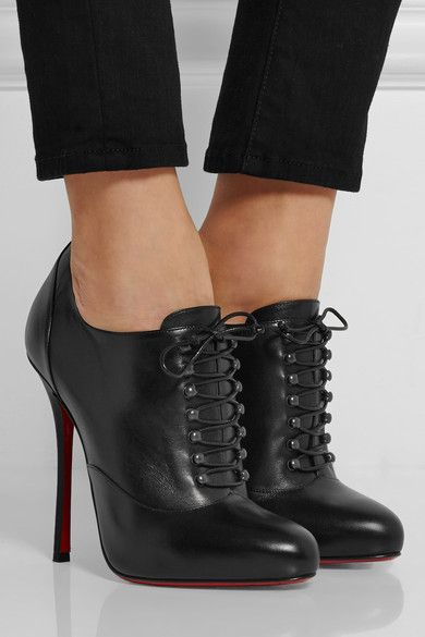 Christian Louboutin | Swiftinetta 120 leather ankle boots | NET-A-PORTER.COM