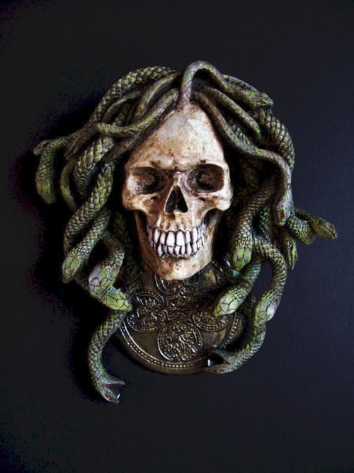 About tattoo on pinterest medusa tattoo skulls and medusa head