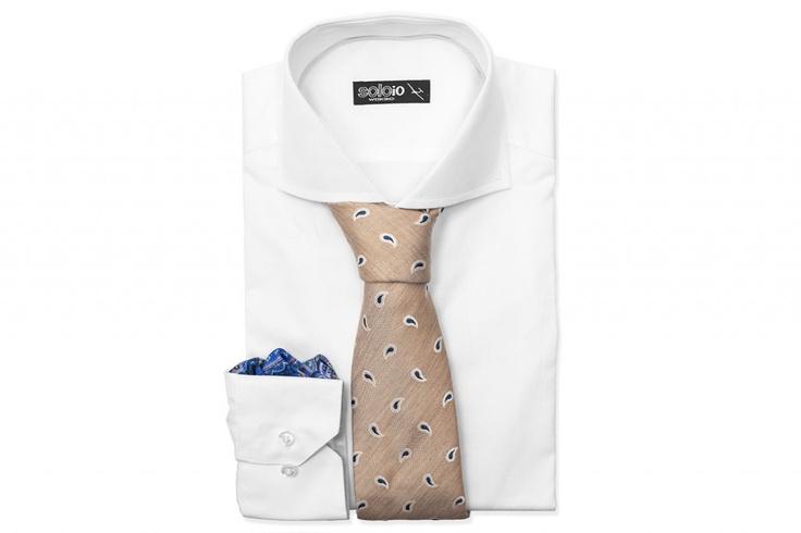 Wedding Look by SOLOiO #men #fashion #groom #tie @soloiomoda www.soloio.com