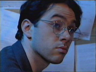 Reece Shearsmith.  Adorbs, but frightening in character.