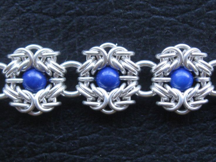 Basket Weave Chainmaille Tutorial : Best chainmail jewelry ideas images on