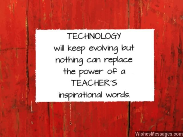 essay on can technology replace teachers Will human teachers be put out of the job by the web and adaptive tutor software   relationship aren't going to be replaced by technology anytime soon  this  nyt article from january shares a few earnest attempts from a.