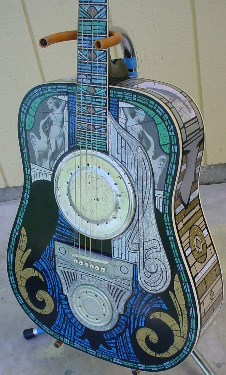 Outlaw Victorian Acoustic Resonator Guitar By Quantrellvintage