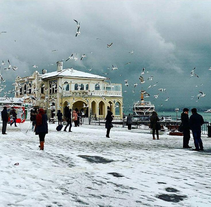 Kadıköy de kış