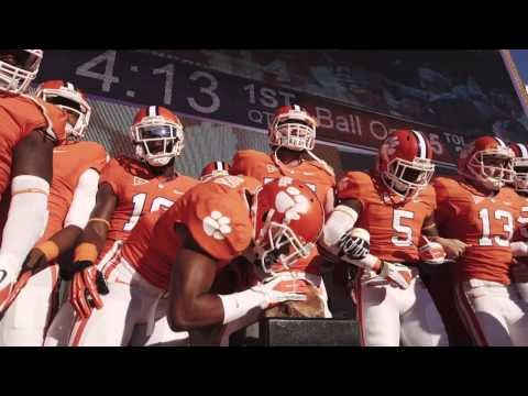 "Clemson Football ""The Hill"". Gives me chills!!"