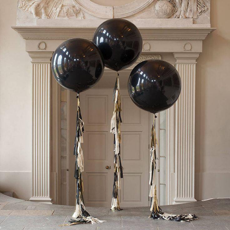 glitz and glam tassel tail balloon by bubblegum balloons | notonthehighstreet.com