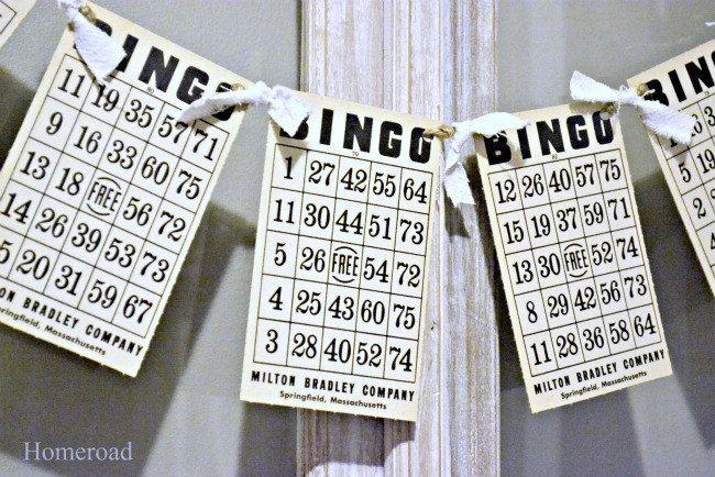 Vintage+Bingo+Card+Banner+by+Homeroad+on+Etsy,+$10.00