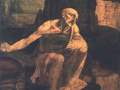 Leonardo da Vinci, San Gerolamo