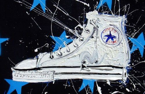 Sneaker art story by Dave White