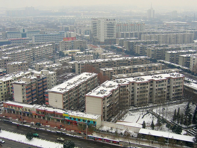 Luoyang City from the Peony Hotel