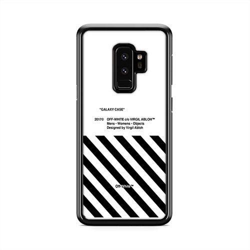 half off 4f6ff de2ec Off White 2 Samsung Galaxy S9 Plus Case   Caserisa #offwhite #case ...
