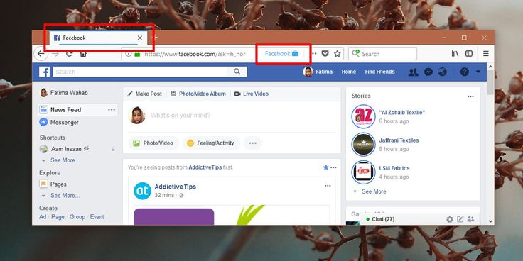 How To Stop Facebook Tracking Your Web Activity [Firefox]