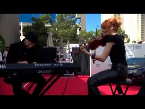 Lindsey Stirling at the Billboard Music Awards 2014 (Beyond the Veil)  so amazing :)