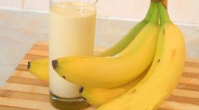 Recept: Banánové smoothie, které zahájí okamžité pálení břišního tuku