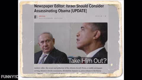 ISRAEL SHOULD CONSIDER KOCKING OFF BARRY SOTERO AKA  Harrison J. BURNELL, AKA Barack Obama