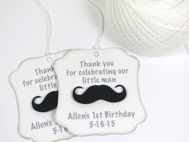 Little man party favor tags, Little Man baby shower tags, Mustache thank you tags, Little Man birthday favor tags, Little man first birthday by WildSugarberries on Etsy