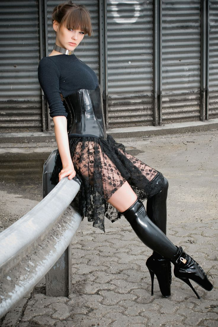 ballet boot bondage Find this Pin and more on Amazing Ballet Heels and Boots.