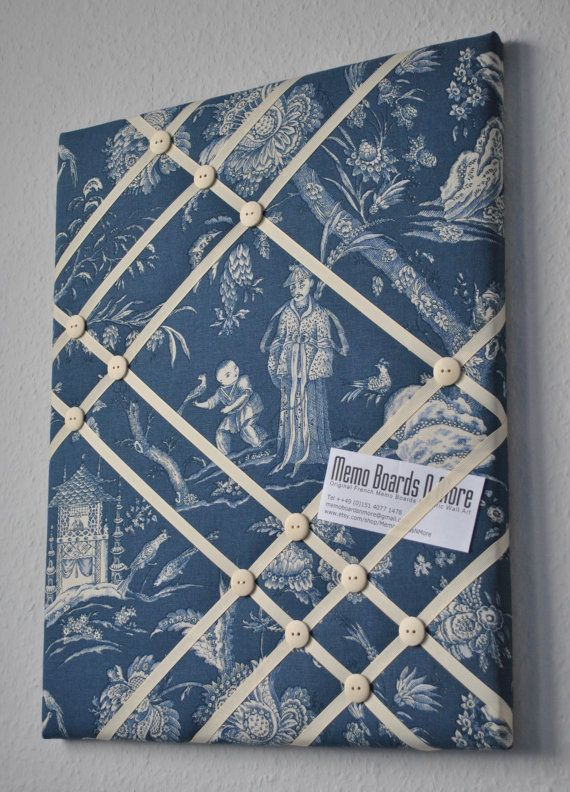 SALE was 39.95 now 29.95 Oriental themed French memo board