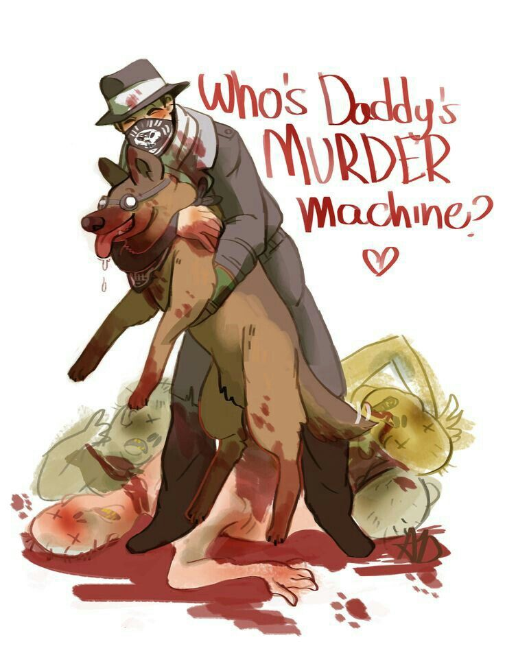 Aww...who's daddy's MURDER machine? Fallout4