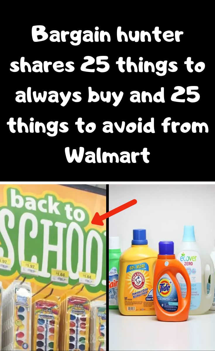 Bargain hunter shares 25 things to always buy and 25
