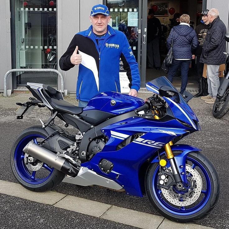 Thumbs up from Kev with his new #Yamaha #YZF-R6 top lad top bike! Thanks Kev  smcbikes.com 01142525454 http://ift.tt/2zzU4qN