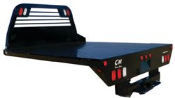 Action customizes CM RD Model Truck Beds-The RD also features an angled fuel fill and a steel tread plate solid rear skirt. This bed comes standard with a 7 way round and 4 way flat plug standard on rear tailboard receptical for 7 way round trailer plug standard in gooseneck box. For more information regarding the CM line of hauler bodies please call our sales team at 800-330-1229 Registering for Action emails is so simple, just text ACTIONTRUCK to 42828. *Message and data rates may apply.