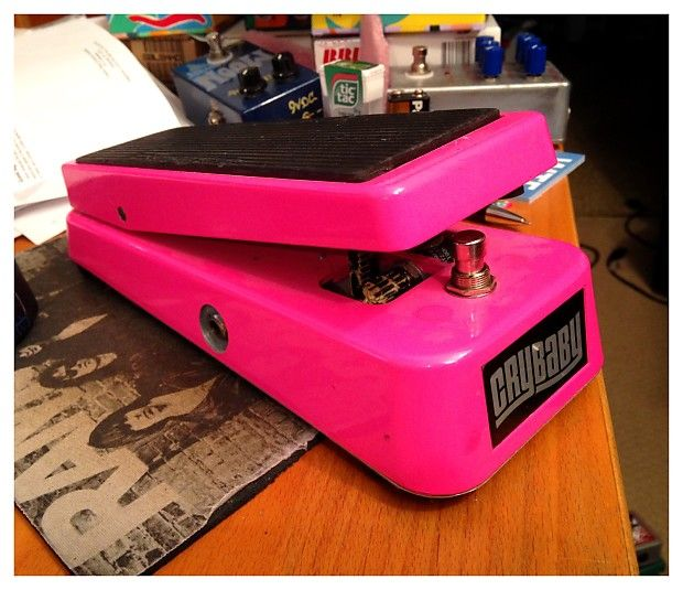 Image result for pink cry baby pedal