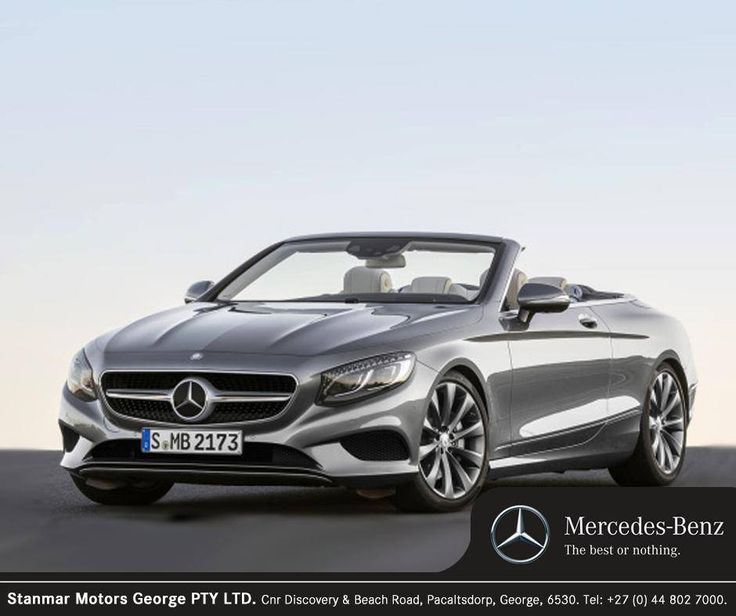 Consider a sophisticated design created with your safety in mind. The #MercedesBenz S-Class Cabriolet can reduce the risk of rear-end collisions and assist the driver by applying brake pressure during emergency braking manoeuvres. Contact #TeamStanmar on 044 802 7000 for more information or to book your test drive.