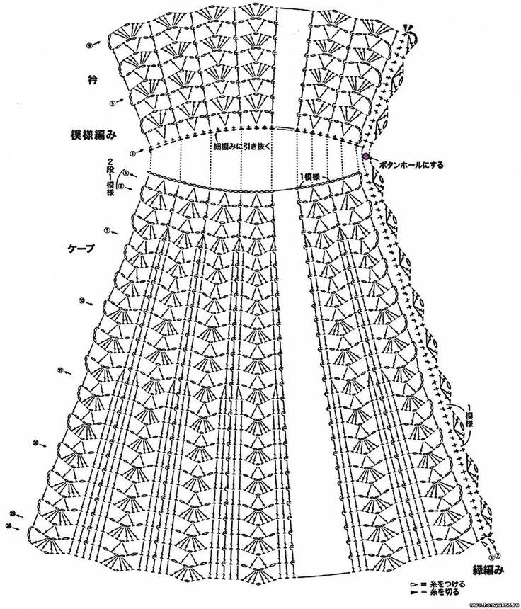 картинки вязаные сарафаны крючком со схемами проведение деловых мероприятий