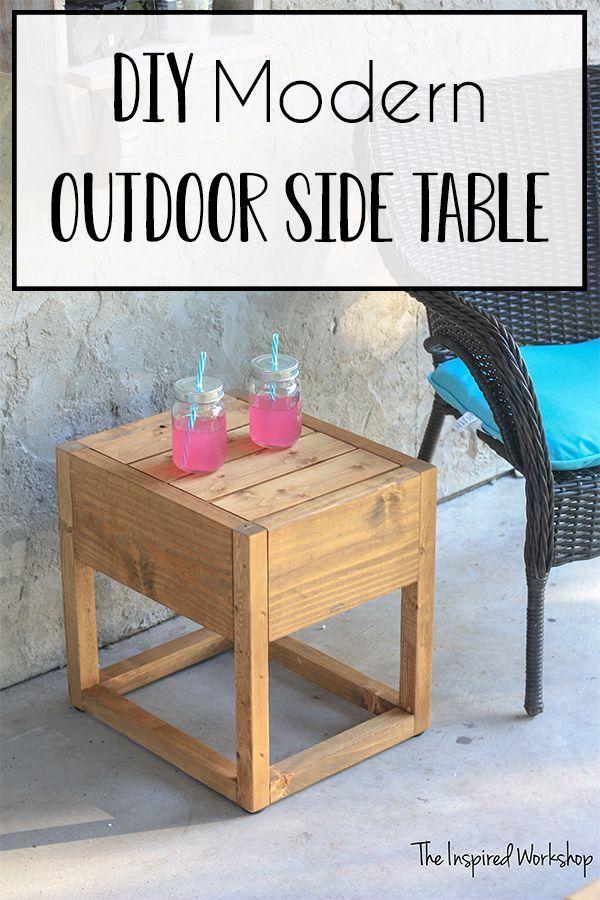 Diy Modern Outdoor Side Table Modern Outdoor Side Tables Outdoor Side Table Diy Side Table