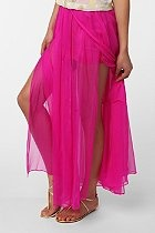 Sparkle & Fade Chiffon Maxi Skirt  #UrbanOutfittersChiffon Maxis Skirts, Pink Maxi, Urban Outfitters, Summer Skirts, Fashion Blog, Hot Pink, Fade Chiffon, Neon Yellow, Hot Summer