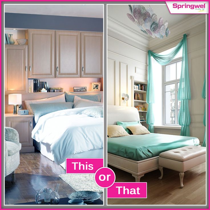 If you are planning to decorate your bedroom..Please let us know which one will be appropriate? #HomeDecor #Bedroom #HomeDecorIdea