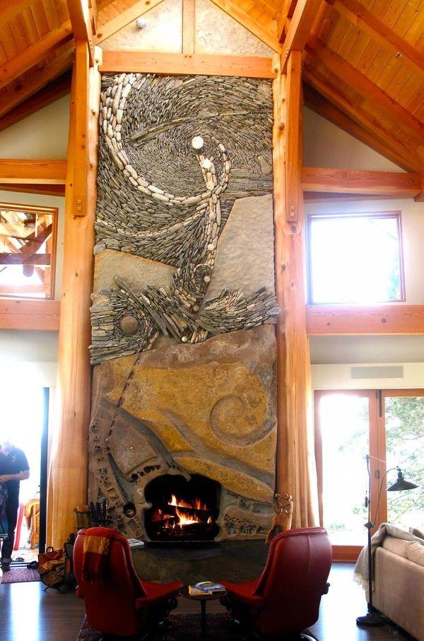 Stunning Mosaic Stone Murals