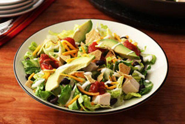 Salade campagnarde au poulet à la mode du Sud-Ouest