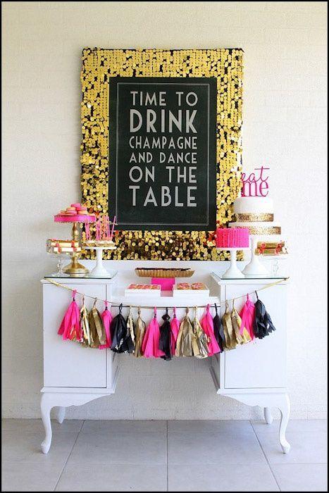 Single Farewell /Bridal Shower/Bachelorette party / hen / stagette party/ Despedida de soltera / dessert table