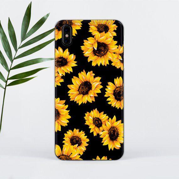 Sunflowers iphone 7 Case iPhone 6S Case iPhone X Case Flowers Samsung S8 Case Ga…