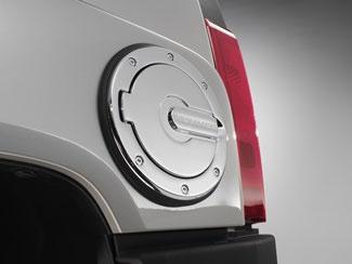 Hummer Accessory - OEM Hummer H3 Chrome Fuel Door