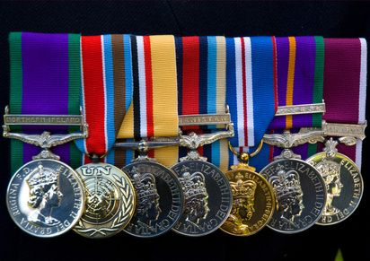 How+to+Position+Military+Medals+Properly+in+a+Shadow+Box+
