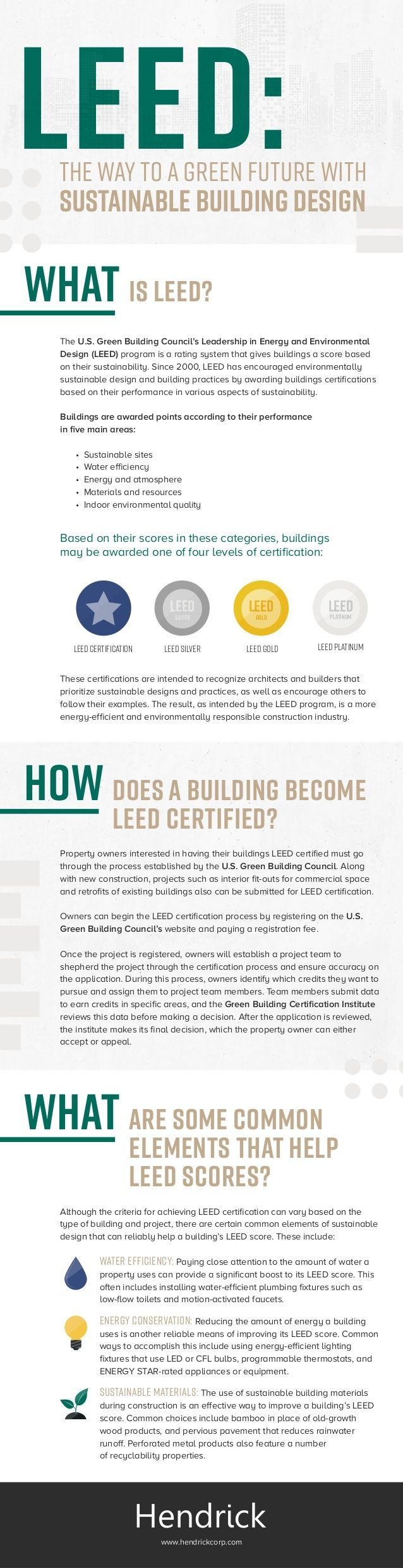 Best 25 leed certification ideas on pinterest leed certified leed the way to a green future with sustainable building design infographic xflitez Images