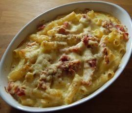 Rezept Nudel-Schinken-Gratin von Stefanieee - Rezept der Kategorie sonstige Hauptgerichte