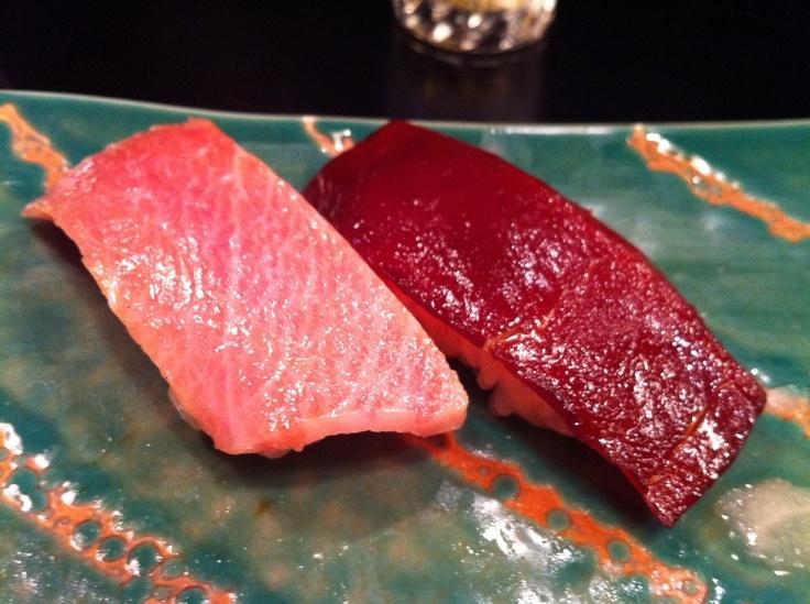 Maguro no Nigiri (Japanese Sushi)