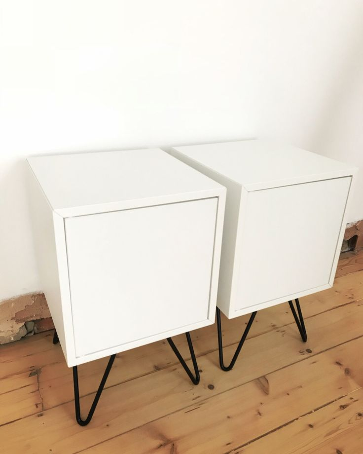 ikea hack my first eket cabinet and hairpin legs home ideas pinterest hairpin legs. Black Bedroom Furniture Sets. Home Design Ideas