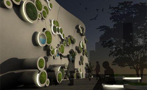 Kooho Jung & Hayeon Kelly Choi-Symbiotic Green Wall- | mapolis | Architektur – das Onlinemagazin für Architektur