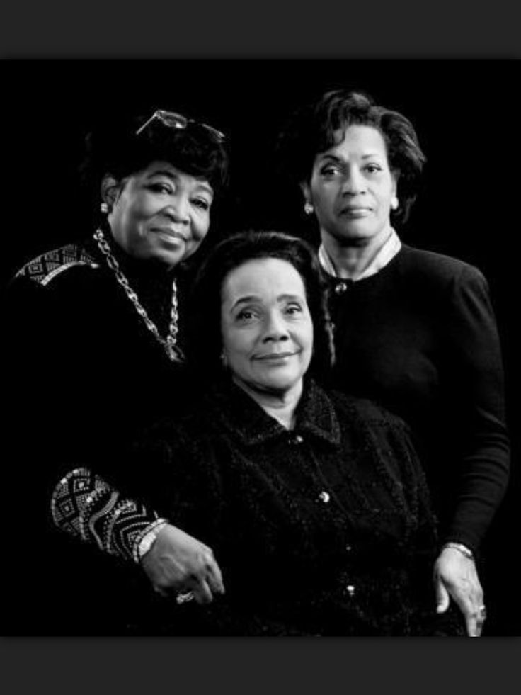 The Wives of Malcolm X, Medgar Evers and Martin Luther King Jr.